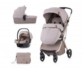 Комбинирана детска количка Chipolino Пирует 360, 3в1, лате