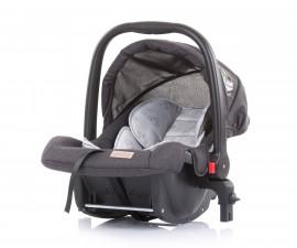 Бебешко столче за кола с адаптор до 13кг Chipolino Адора, мъгла 0+