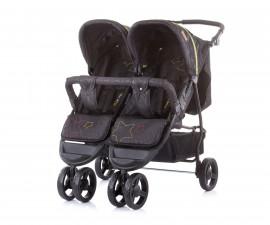 Бебешки колички за близнаци до 15кг Chipolino Макси Микс, карбон