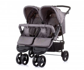 Бебешки колички за близнаци до 15кг Chipolino Макси Микс, асфалт