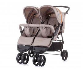 Бебешки колички за близнаци до 15кг Chipolino Макси Микс, лате