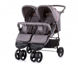 Бебешки колички за близнаци до 15кг Chipolino Макси Микс, син и розов
