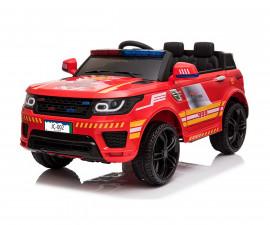 Детски акумулаторен джип Chipolino полиция, червен
