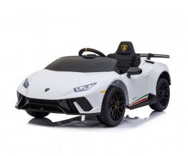 Детска акумулаторна кола Chipolino Lamborghini Huracan, бяла