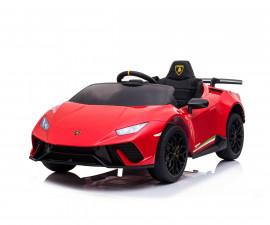 Детска акумулаторна кола Chipolino Lamborghini Huracan, червена