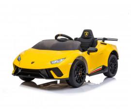 Детска акумулаторна кола Chipolino Lamborghini Huracan, жълта