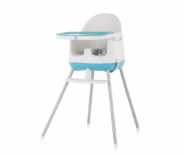 Детско надигащо се столче за хранене 3в1 Chipolino Пудинг, син божур STHPU0214PB