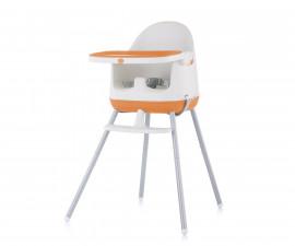 Детско надигащо се столче за хранене 3в1 Chipolino Пудинг, портокал STHPU0215OR