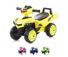 Детска музикална количка за яздене и каране с крачета Chipolino ATV, асортимент