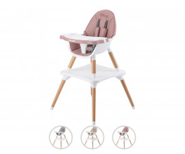 Детски стол за хранене на бебета и деца Chipolino Classy 3в1, асортимент