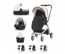 Комбинирана бебешка количка с обръщаща се седалка за деца до 15кг Chipolino Emotion 3в1, асортимент
