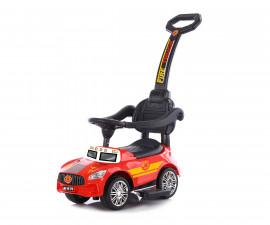 Кола за деца до 25кг с дръжка Chipolino Пожарна, червена ROCFT02001RE