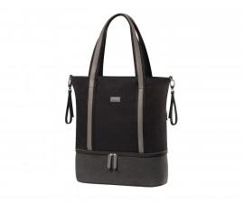 Чанта за бебешки принадлежности Babyono Superme, черна 1509/01