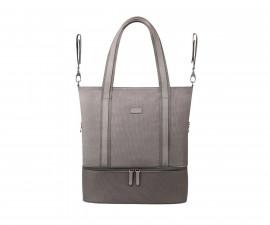 Чанта за бебешки принадлежности Babyono Superme, сива 1509/02