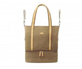 Чанта за бебешки принадлежности Babyono Superme, златиста 1509/03