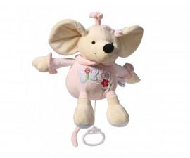 Плюшена музикална играчка Babyono, мишка 927