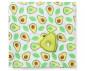 Меки пелени от бамбук и муселин с играчка за бебета и деца Babyono с играчка, авокадо, 120x120см 536 thumb 3