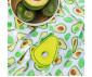 Меки пелени от бамбук и муселин с играчка за бебета и деца Babyono с играчка, авокадо, 120x120см 536 thumb 4