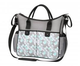 Чанта за бебешки принадлежности с подложка Babyono So Sity 1423/06