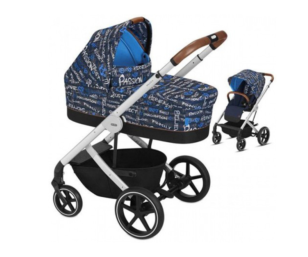 Комбинирана бебешка количка 2-в-1 Сайбекс Balios S FE Values For Life Trust blue