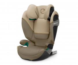 Столчета за кола за деца Cybex Solution S i-Fix, Classic beige, 15-36кг 520002536
