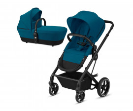Количка за деца с трансформиращ се кош до 22 кг Cybex Balios S BLK, River blue 520001301
