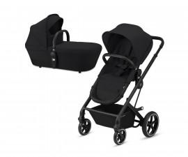 Количка за деца с трансформиращ се кош до 22 кг Cybex Balios S BLK, Deep black 520001309