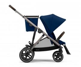 Бебешка количка за близнаци до 22 кг Cybex Gazelle S TPE, Navy Blue 520002167