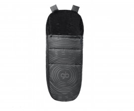 Бебешки спален термочувал за количка Cybex Maris Plus Lux, Black 616430002