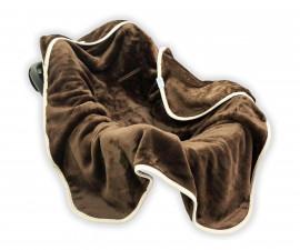 Бебешко одеяло за столче за кола Baby Matex Коала, шоколад, 95 х 95 см 5902675034401