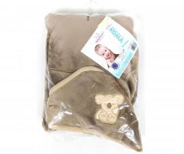 Бебешко одеяло за столче за кола Baby Matex Коала, бежово 95 х 95 см 5902675046329