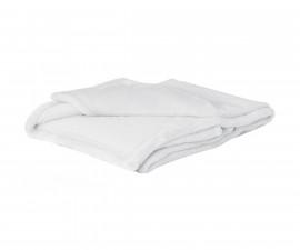 Бебешко одеяло Baby Matex Bono 0208, 75 х 100 см, бяло 5902675043632