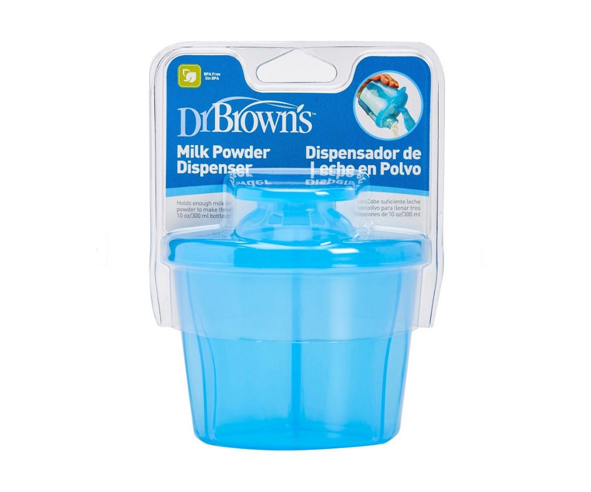 Дозатор за сухо мляко Dr.Brown's AC039-INTL, три дози, син 72239302651