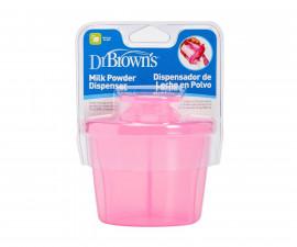 Дозатор за сухо мляко Dr.Brown's AC038-INTL, три дози, розов 72239302644