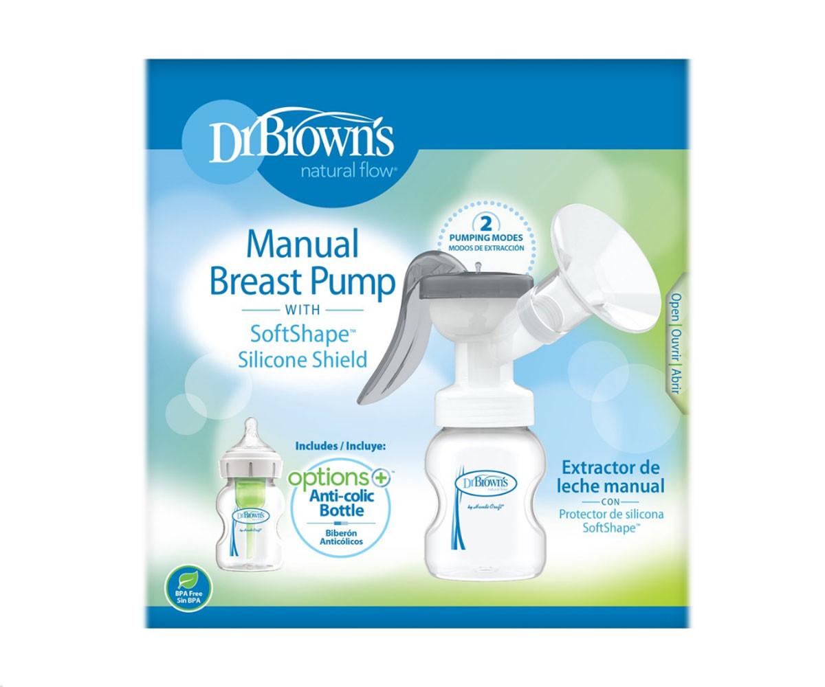 Ръчна помпа за кърма с аксесоари Dr.Brown's 72239319475