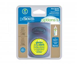 Светещ силиконов протектор за стъклено шише Dr.Browns AC210, 120 мл 72239323038