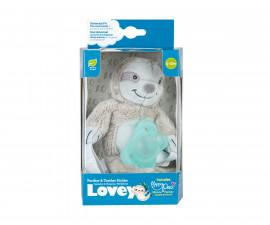 Плюшена детска играчка ленивец със залъгалка Dr.Browns AC211, Аква 72239323601