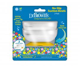 Бебешка купа с вендуза дъно Dr.Browns TF019, 2 броя 72239318935