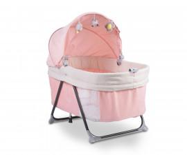 Електрическа люлка за новородено 2в1 Cangaroo Aliya, розова 108388