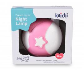 Бебешка нощна лампа проектор Kaichi Dream music, розов, K999-306G 108158