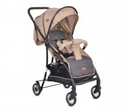 Детска количка за лятото до 15 кг Cangaroo London, бежова 108224