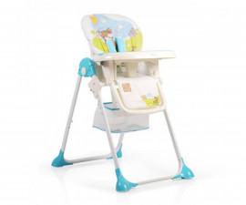 Детско столче за хранене Cangaroo Hunny, синьо 3800146238889