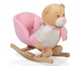 Бебешка люлка Cangaroo Bear, плюш розова