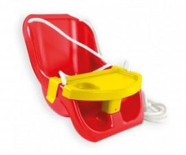 Люлка за деца за градина Moni Toys, червена