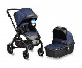 Комбинирана количка за деца Cangaroo Mira, синя
