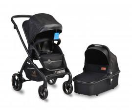 Комбинирана количка за деца Cangaroo Mira, черна