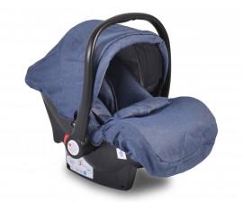 Бебешко столче за кола - кошница Moni, деним, 0-13 кг