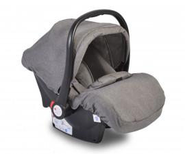 Бебешко столче за кола - кошница Moni, тъмно сиво, 0-13 кг