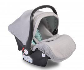 Бебешко столче за кола - кошница Moni, тюркоаз, 0-13 кг