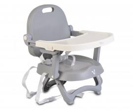 Бебешко столче за хранене с повдигаща фукция Cangaroo Papaya, сиво